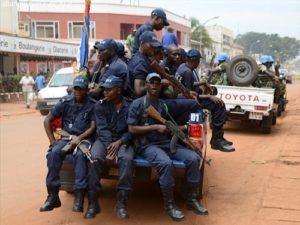 le gendarmes en patrouille