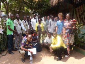 Photo de famille MSF atelier