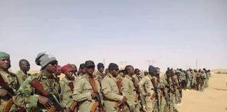 des soldats FACA formés par des russes au Soudan