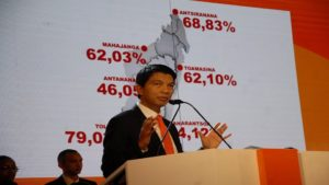 l'ancien président de transition malgache
