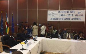MLe Procureur de la CPI madame Fatou Bensouda clot la formation organisée pour les magistrats de la CPS à Bangui.