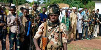 Les rebelles de l'Unité pour la paix en Centrafrique