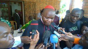Le cardinal centrafricain Dieudonné NZapalainga