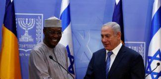 Le premier ministre Israélien Benyamin Netanyahu et Idriss Deby du Tchad