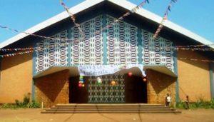 bâtiment de l'église Notre Dame de Fatima