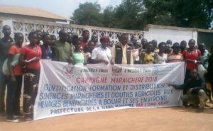 les 120 jeunes formés par GDP par une technique agricole