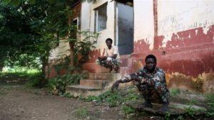 la base militaire du FPRC à Ndélé