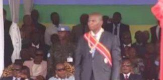 Président Faustin Archange Touadera. CopyrightDR