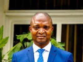 Le candidat Emmanuel Ramazani Shadary, Président du front commun pour le Congo. CopyrightDR.