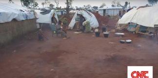 Camp des déplacés du PK3 de Bria dans la Haute-Kotto. CopyrightCNC