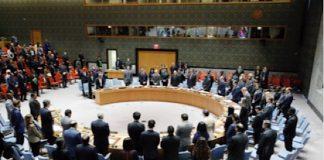 Le Conseil de sécurité de l'ONU le 22 octobre 2018.
