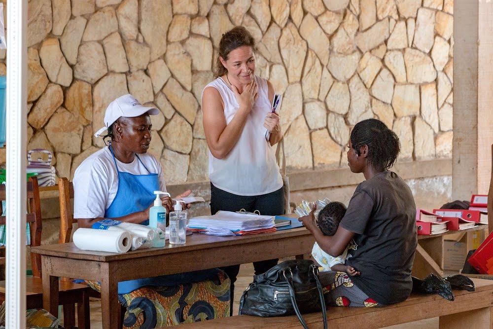 Institut Pasteur de Bangui en République centrafricaine. Photo : Adama Bria, CopyrightCNC.