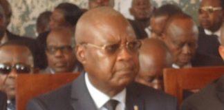 Le Premier ministre Simplice Mathieu Sarandji. CopyrightCNC
