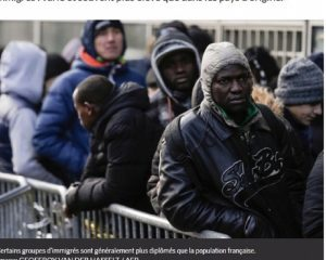 Les immigrés africains de France. CopyrightDR.