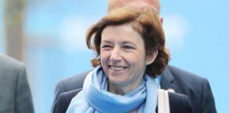 La ministre française des armées à Bruxelles le 12 juillet 2018. CopyrightReuters.