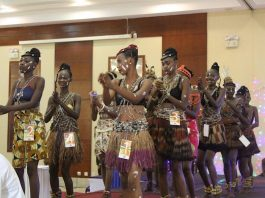 élection de miss centrafrique 2018