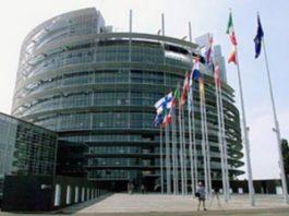 Union européenne siège de Bruxelles en Belgique. CopyrightDR