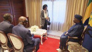 visite du vice-président gabonais au chevet du Président Ali Bongo à Rabat au Maroc