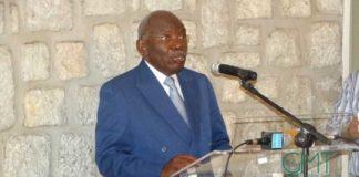 Zacharie Myboto, président de l'Union nationale © GMT