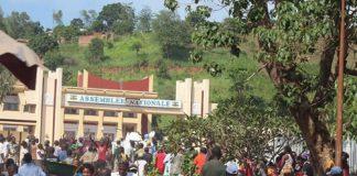 Image du forum de Bangui. CopyrightCNC.