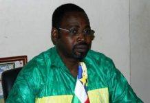 Le Président du parti PUR Eddy Symphorien Kparkouti. Credit photo : Eric Ngaba, CopyrightCNC.