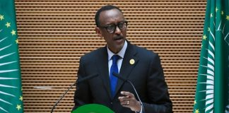 Paul Kagamé, Président du Rwanda.