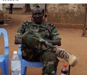 Le chef rebelle Ali Darassa