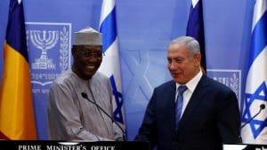 Le Président de la République du Tchad et le Premier ministre israelien