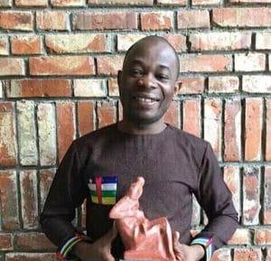 Le lauréat du prix mondial pour l'humanisme, Docteur Cédric Le Grand OUANEKPONE