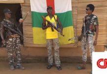 Les miliciens d'autodéfense du PK5. CopyrightCNC.