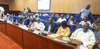 salle du dialogue de Khartoum entre le gouvernement centrafricain et les groupes armés sous l'égide de l'Union africaine