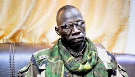 Le général de la Seleka Noureddine ADAM, patron du FPRC.