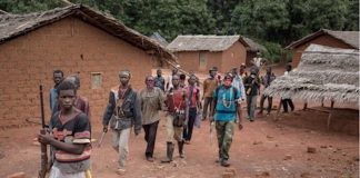 les miliciens Anti-Balaka