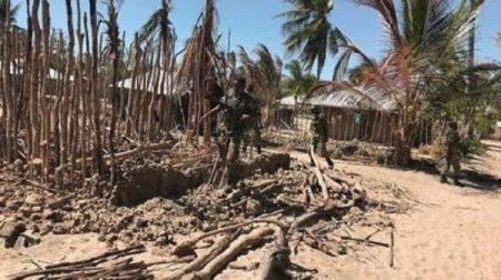 Des militaires de l'armée du Mozambique dans le nord du pays après une attaque