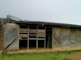 École primaire de Baboua, proche de la commune de Zoukombo dans la Nana-Mambéré, République centrafricaine. Crédit photo : Gervais Lenga /CNC.