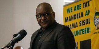 David Makhura, premier ministre de la province de Gauteng