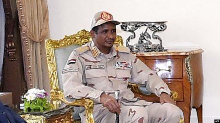 Le Général Mohammed Hamdan Daglo-commandant des Forces de soutien rapide-RSF