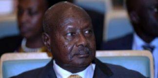 Le président ougandais Yoweri Museveni au siège de l'UA à Addis Abeba, le 17 janvier 2019