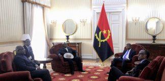 Les présidents rwandais Paul Kagame - ougandais Yoweri Museveni - Joao Lourenço de l'Angola et Felix Tshisekedi de la RDC