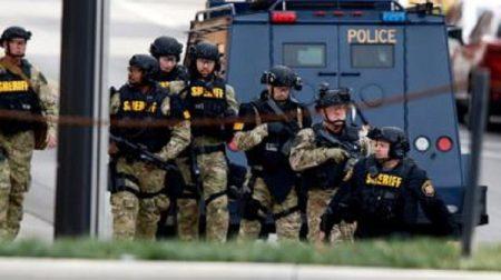 Une intervention de la police dans l'État de l'Ohio