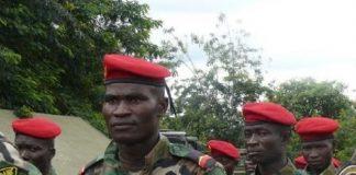 les soldats FACA formés par les instructeur russes à Bérongo en centrafrique