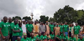 fin de formation de 20 ambassadeurs de Paix à Koui le 14 août 2019 par gervais lenga pour cnc