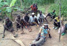 Les miliciens Anti-Balaka de la République centrafricaine