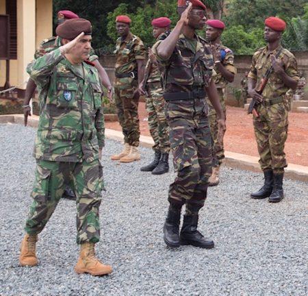 Cérémonie de fin de formation des gestionnaires logistiques des forces armées centrafricaines