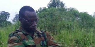 Le général du FPRC Noureddine Adam
