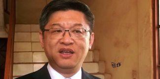 L'Ambassadeur de chine en République centrafricaine chen dong. Crédit photo : CNC
