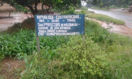 Village Mabo, près de Sibut, en République centrafricaine le 31 août 2019. Crédit photo : Anselme Mbata / CNC.