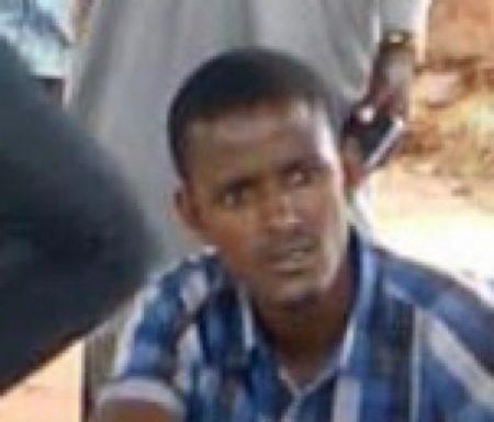 Moussa Ahmat Aliou, Porte-Parole et Interprête du chef rebelle Ali Darassa, ici le 3 août 2019. Crédit photo : Bertrand Yékoua / CNC.