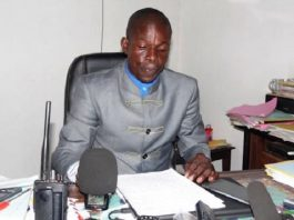 Le colonel Bienvenu Nguimalé, Directeur de l'immigration. Photo d'archives.