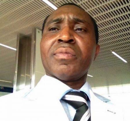 Monsieur Beernard Selembi Doudou, auteur de l'article.